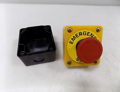 Omron Emergency Stop Button Whousing A22-01 Pzf