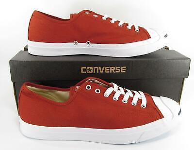 - Converse Jack Purcell JP JACK OX Low Top Sneaker TERRA RED 157784C Men's 13