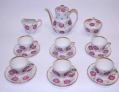 Porcelain Tea Sets (Antique Polish Porcelain Tea)