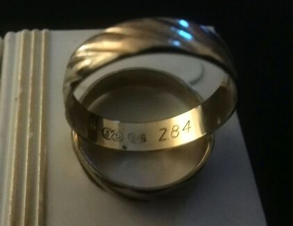 9 Carat Wedding Rings Clontarf Redcliffe Area Preview