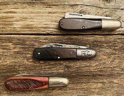 Vintage Robeson Barlow Pocket Knives