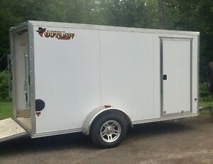 Aluminum Enclosed Trailer 6x12 (No Trades)
