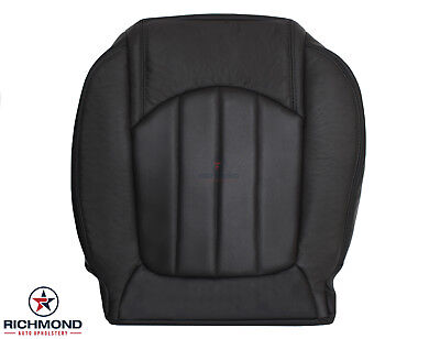 2009 2010 2011 2012 Chevy Traverse LTZ -Driver Bottom Leather Seat Cover Black