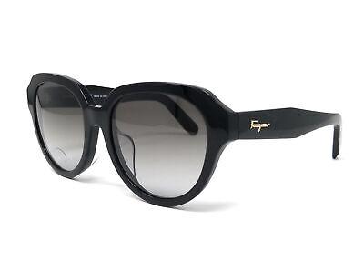 Salvatore Ferragamo Sunglasses SF906SA 001 Black Rectangle Women's 54x18x140