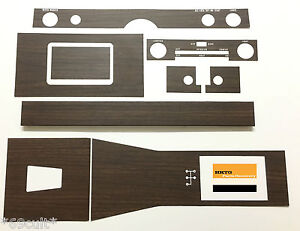NEW Woodgrain Dash & Manual Console Kit for Holden HK Monaro GTS Premier