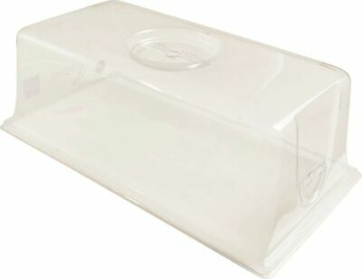 """Hydrofarm CK64081 Vented Humidity Dome, 7.5"""", 7-Inch, Clear"""
