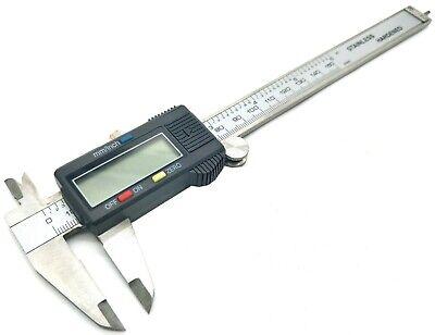 6 Digital Electronic Caliper Large Lcd 150mm Digital Vernier Caliper Saemetric