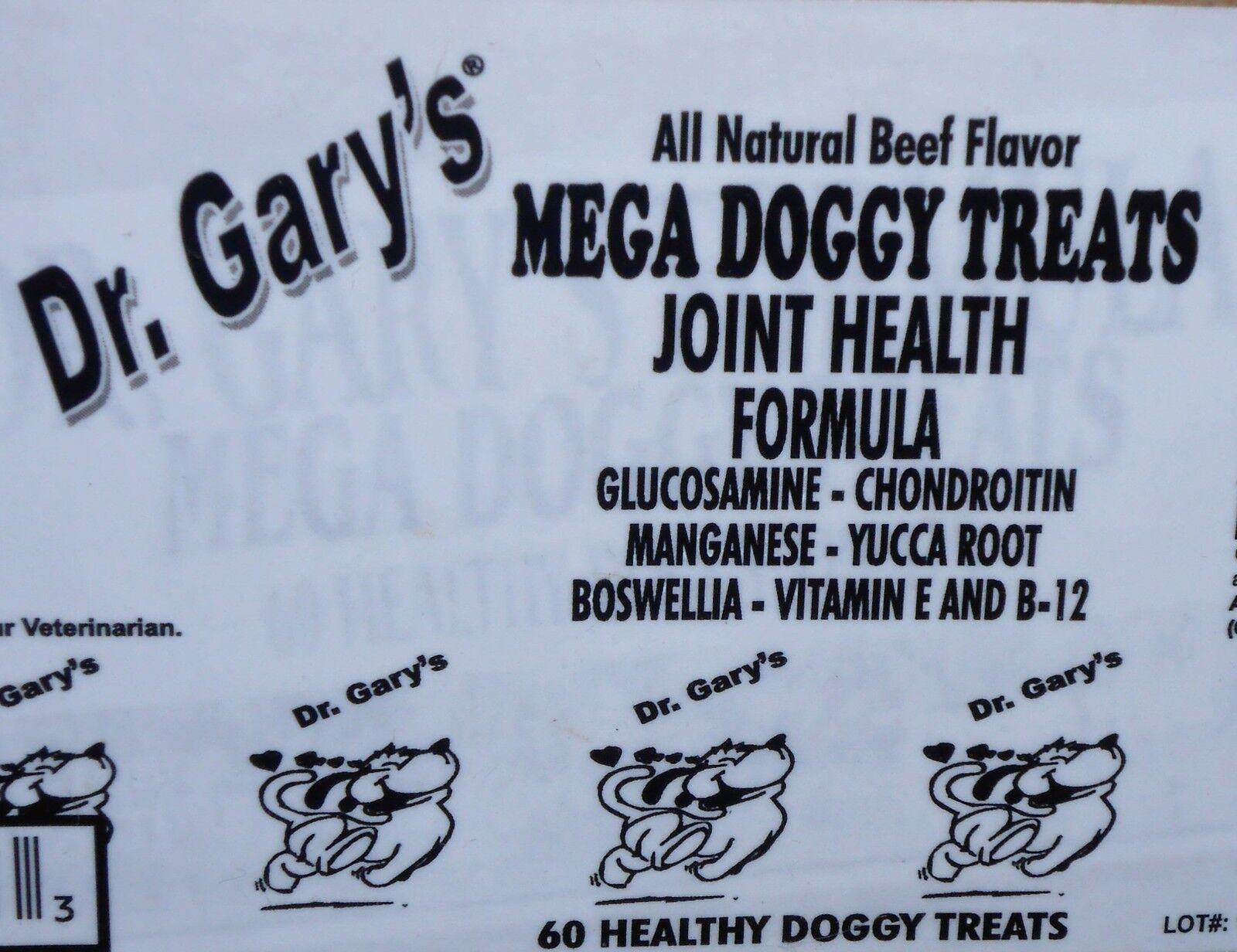 Dr Garys Dog Glucosamine Treat Caps