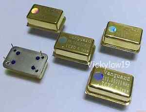 1pcs Vanguard TCXO 0.1ppm 24.576MHz Ultra precision Golden Oscillator