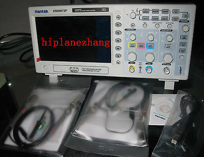 Digital 70mhz Oscilloscope 2channels 1gss 7 Tft Lcd 800x480 Usb Dso5072p