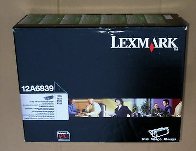LEXMARK 12A6839 High Yield TONER T520 T522 X520 X522 GENUINE SEALED