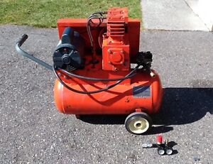 Air Compressor- 220Volt Twin Cylinder