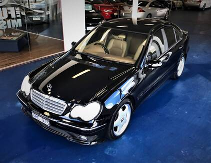 2001 Mercedes-Benz C180 AMG Sedan - Automatic Hoppers Crossing Wyndham Area Preview