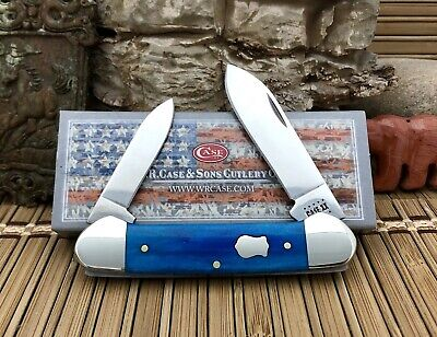 Case XX USA Beautiful 2020 Smooth CARIBBEAN Bone 50669 Canoe Knife