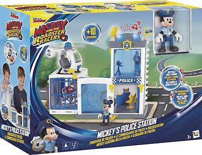 IMC Mickey Mouse Polizei Station Wache mit Licht- und Soundeffekten +3J