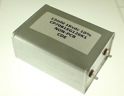 12mfd 1000vdc Hermetically Sealed Oil Capacitor 12uf 1000v Dc 12mf 1000 Volts