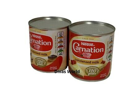 Nestle Carnation Sweetened Condensed Milk Pack Of 2 x 397g Brand New EXP 2021