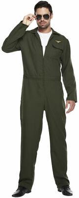 Herren Aviator Pilot Kostüm Anzug Kostüm Outfit
