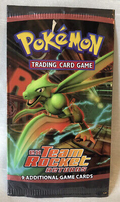EMPTY Pokemon TCG Booster Pack EX Team Rocket Returns Booster Pack 2004 Opened