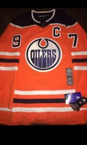 NEW Adidas Connor McDavid Jersey