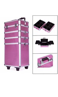 Makeup Trolley (pink) Free Delivery