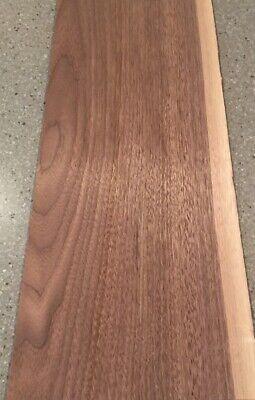 Walnut Wood Veneer 5 Sheets 24 X 9.5 7.5 Sq Ft