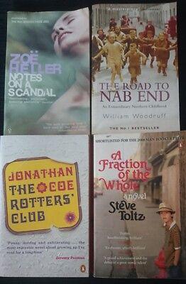 Modern & Contemporary Fiction Book Bundle Paperbacks Mixed Authors
