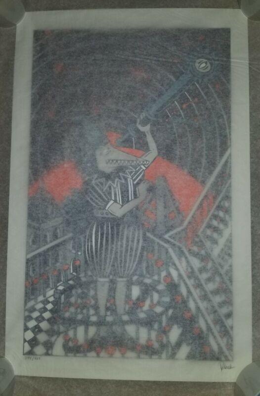 Jim Pollock Neo Mars poster Art Print 2020 Signed & Hand Numbered s/n Phish