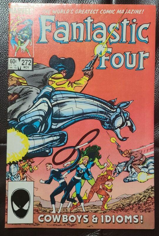 Fantastic Four #272 - 1st Appearance of  Nathaniel Richards / KANG