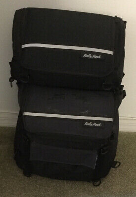 Motorcycle RALLY PACK Rack Bag  Luggage 2 Pieces Motorcycle Luggage Rack Bags