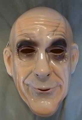 Addams Family Uncle Fester Child Kids  PVC Costume Mask Rubies Licensed New (Addams Family Uncle)