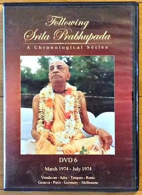Following Srila Prabhupada  A Chronological Series  Dvd 6  March 1974 July 1974