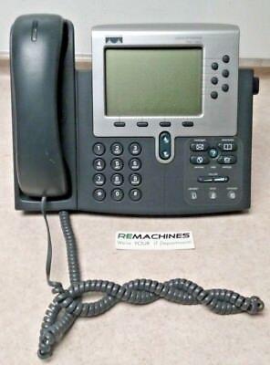 Cisco Ip Phone 7960g 68-1679-11 Rev B0 Tested Free Shipping