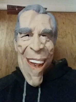 PRESIDENT GEORGE BUSH Kid Child Funny Halloween Latex Rubber Mask Costume NEW!! (President Bush Halloween Costume)
