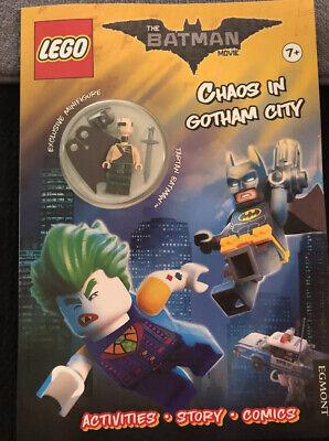 Lego Batman Movies Chaos In Gotham City Comic Book Tartan Batman Mini figure