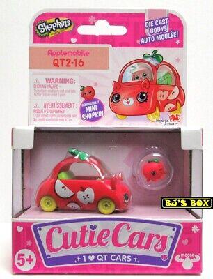 Shopkins Cutie Cars APPLEMOBILE Series#2 QT2-16 Die-Cast Car & Figure New