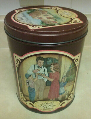 Vintage Nestle Toll House 50 Years of Memories 1939-1989 Collector Tin