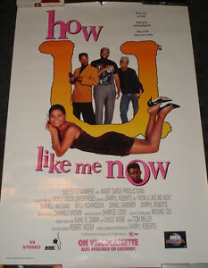 How U Like Me Now Movie Poster Rolled 90's Black Comedy ...