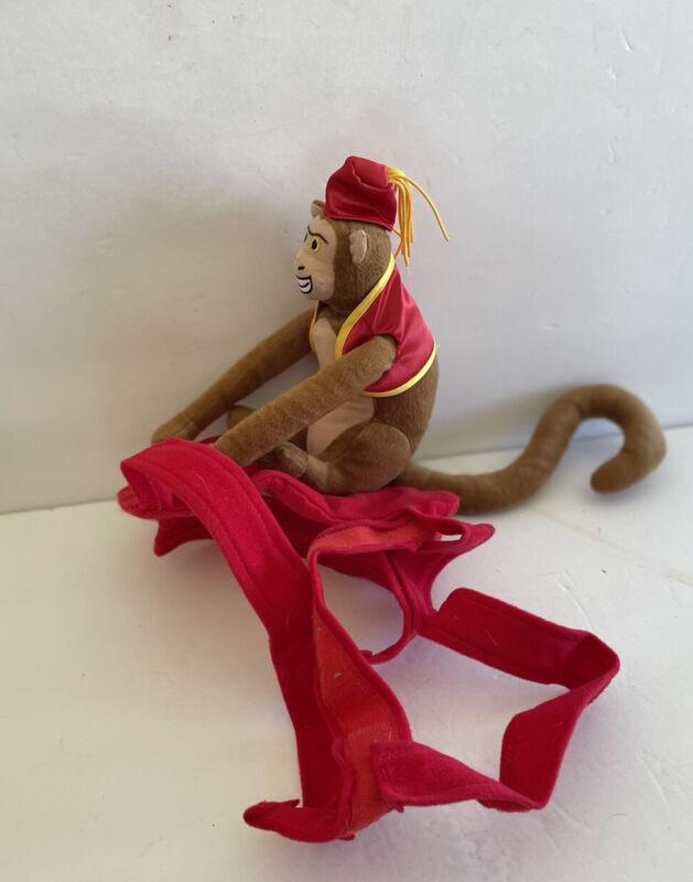 Monkey In  Red Fez Dog Outfit Costume Medium- Large Dog Adjustable