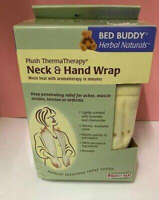Aromatherapy Moist Heat Neck Wrap - Neck Hand Wrap Thermatherapy Bed Buddy Arthritis Aches Strains Aromatherapy Heat
