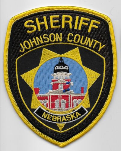 Johnson County Sheriff State Nebraska NE Colorful