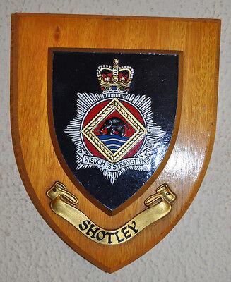Shotley Police Training Centre mess wall plaque Constabulary PTC
