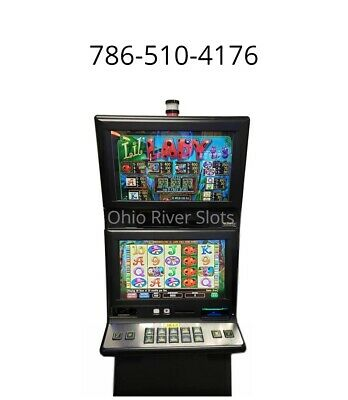 IGT G20 Lil Lady Slot Machine (Ticket Printer, COINLESS)