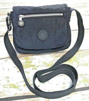 Kipling Sabian Crossbody Mini Shoulder Bag Navy Adjustable Strap GUC