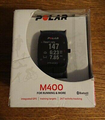 NEW! POLAR M400 - Integrated GPS, 24/7 Activity Tracking, Bluetooth , usado comprar usado  Enviando para Brazil