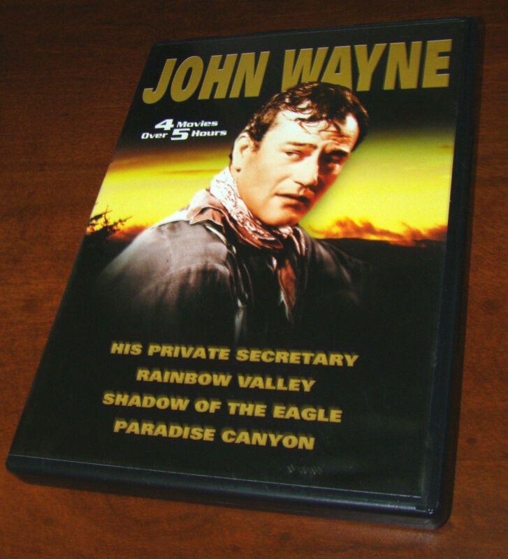 JOHN WAYNE DVD FEATURING 4 DIFFERENT MOVIES