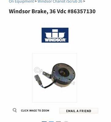 Oem Part 86357130 Brake Kit For Windsor Chariot 3 Floor Scrubber