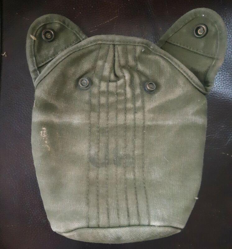 Original Vietnam Era US Army Military Issue M1956 Canteen Cover