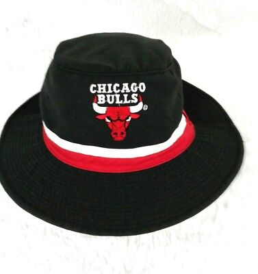 Chicago Bulls Vintage Starter Bucket Hat Size S