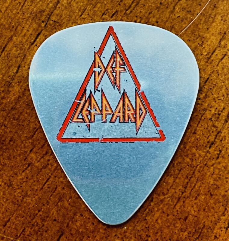 Def Leppard 🎸Phil Collen🎸 Tour Guitar Pick• Metal• Dunlop • Condition VG